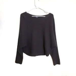 Vince Cashmere/Wool Blend Knit Gray Sweater